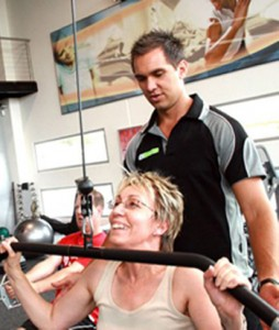 Personal fitness training at Fit for Living