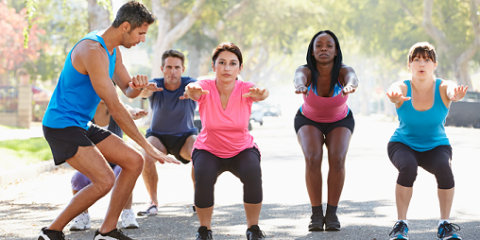 group training with personal trainer