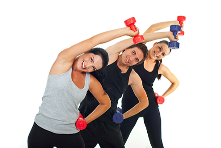 bigstock-Happy-Team-Workout-With-Dumbbe-24009782RESIZE