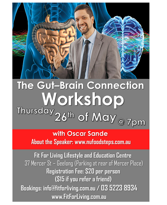 The Gut-Brain connection flyer
