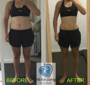 Personal training results