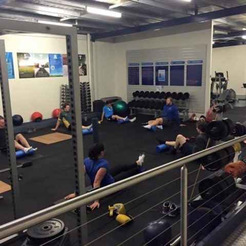 Core and mobility training at Fit for Living