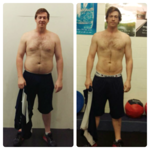 Personal training client results