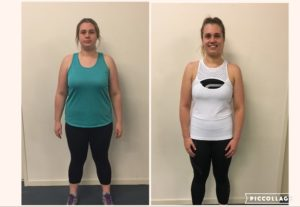 personal training transformation